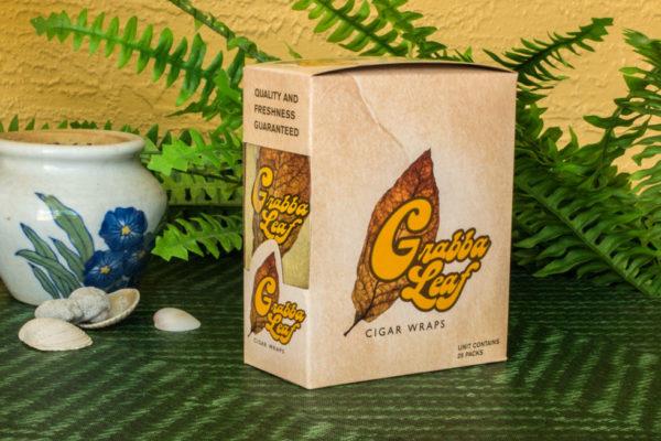 GrabbaLeaf Natural Cigar Wraps