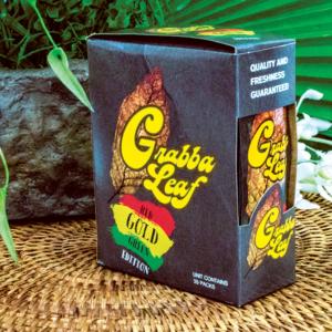 GrabbaLeaf Gold Leaf Cigar Wrap